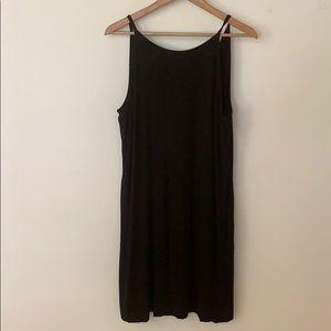 White House Black Market Dresses - T shirt style tank mini dress